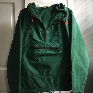 L.LBean Green Windbreaker